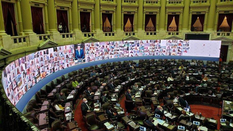 Los diputados porteños sesionaron por videoconferencia