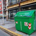 Llegaron los contenedores verdes a la Comuna N° 5 en reemplazo de las campanas