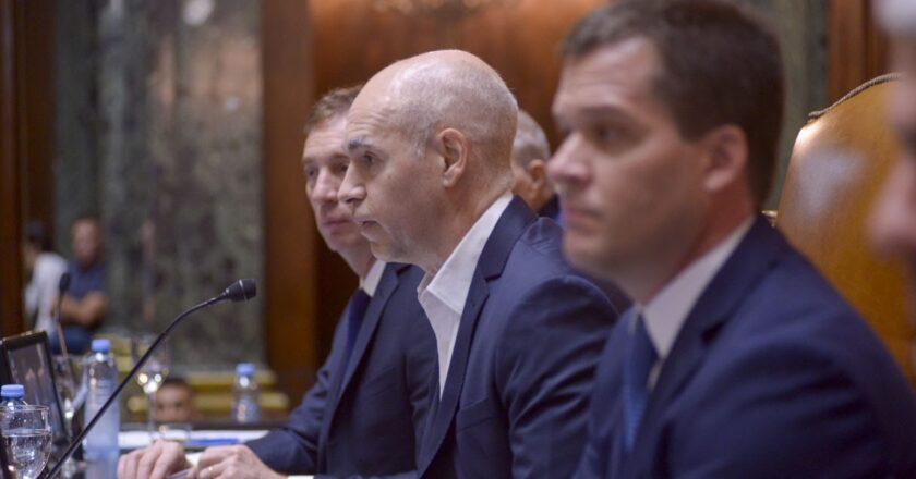 Horacio Rodríguez Larreta hablará mañana en la apertura de la legislatura