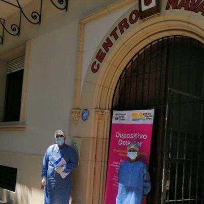 El test de COVID-19 ahora se hace en el Centro Navarro de Moreno y Colombres