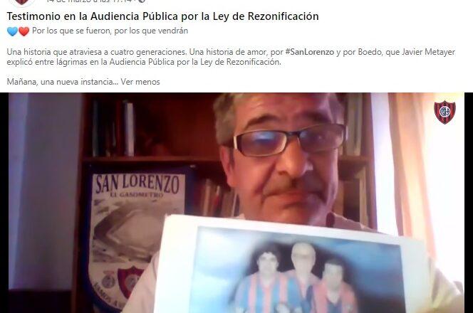 Voces a favor de la rezonifización para el predio de Avenida La Plata