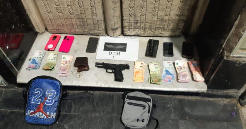 Motochorros robaron una farmacia en Almagro y uno fue detenido