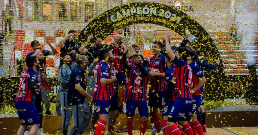 San Lorenzo campeón de América en futsal