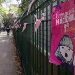 """Plaza Almagro de rosa por el """" Ni una Menos"""""""