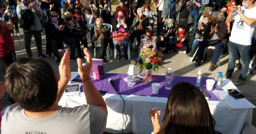 """Presentaron el libro """"Calles, Género y Memoria"""" en la Plaza Boedo"""